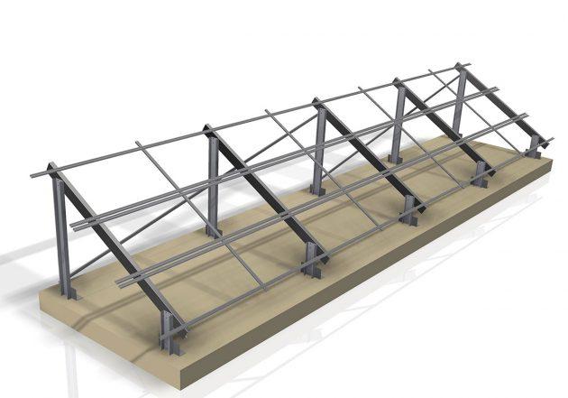 Σταθερές Βάσεις Στήριξης Φωτοβολταϊκών Συστημάτων - Σύνθετα Προϊόντα - Μεταλλεμπορική